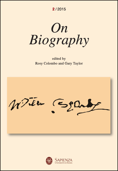 View No. 2 (2015): On Biography