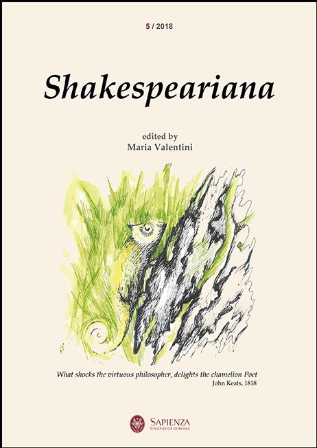View No. 5 (2018): Shakespeariana