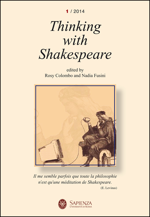 View No. 1 (2014): Thinking with Shakespeare