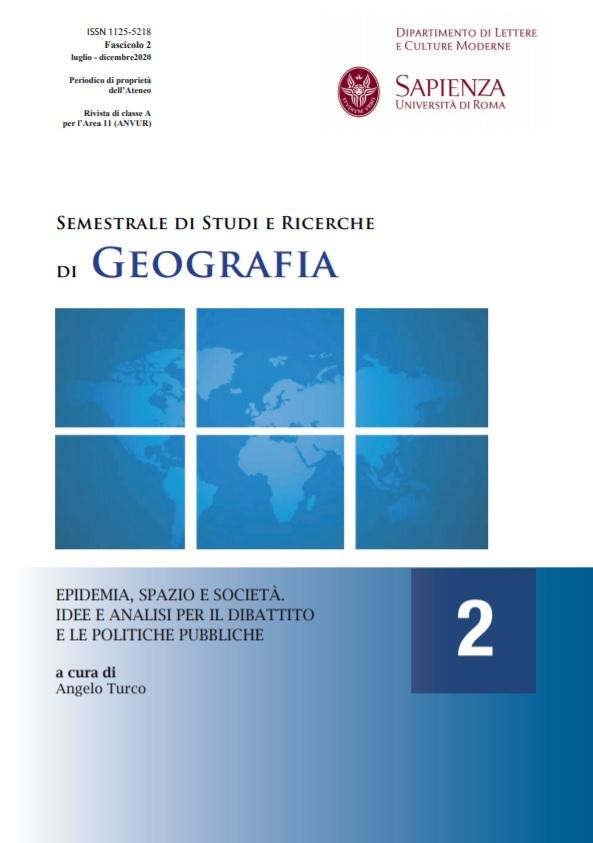 Visualizza N. 2 (2020): Epidemia, spazio e società. Idee e analisi per il dibattito e le politiche pubbliche