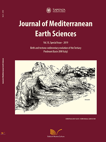 View Vol. 11 (2019): Special Issue-Birth and tectono-sedimentary evolution of the Tertiary Piedmont Basin (NW Italy)