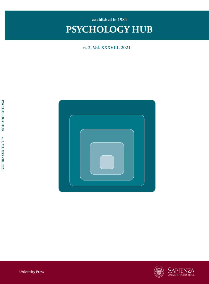 View Vol. 38 No. 2 (2021): PSYCHOLOGY HUB, n. 2, Vol. XXXVIII, 2021